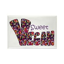 Sweet Vegan Rectangle Magnet