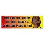 Commies In Charge Bumper Sticker (10 pk)