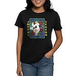Christmas Rabbit Women's Dark T-Shirt