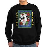 Christmas Rabbit Sweatshirt (dark)