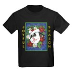Christmas Rabbit Kids Dark T-Shirt