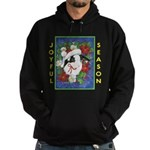 Christmas Rabbit Hoodie (dark)