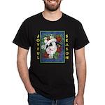 Christmas Rabbit Dark T-Shirt