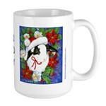 Christmas Rabbit Large Mug