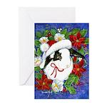 Christmas Rabbit Greeting Cards (Pk of 10)