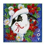 Christmas Rabbit Tile Coaster
