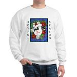 Christmas Rabbit Sweatshirt