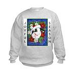 Christmas Rabbit Kids Sweatshirt
