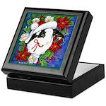 Christmas Rabbit Keepsake Box