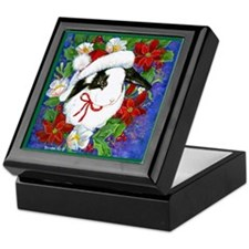 Christmas Rabbit Keepsake Box
