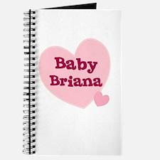 Baby Briana Journal