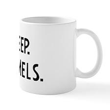 Eat, Sleep, Race Camels Mug
