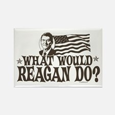 What Would Reagan Do Rectangle Magnet
