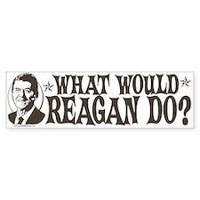 What Would Reagan Do Bumper Bumper Sticker