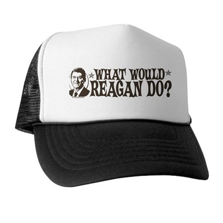 What Would Reagan Do Trucker Hat