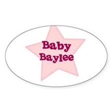 Baby Baylee Oval Decal