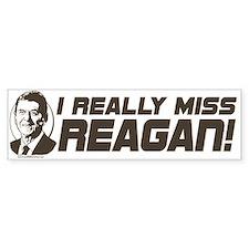 I Miss Reagan Bumper Bumper Sticker