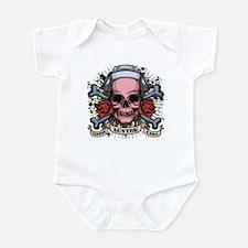 TLC Nurse Skull Infant Bodysuit
