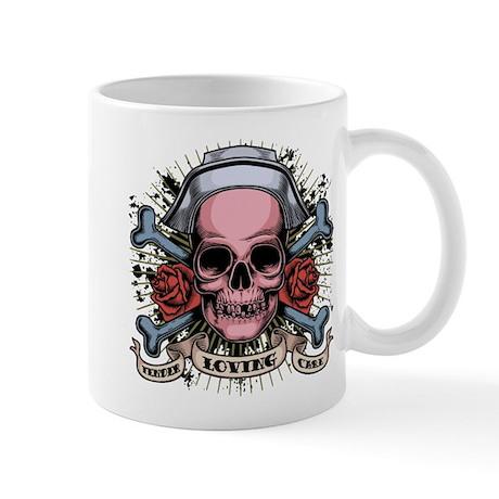 TLC Nurse Skull Mug