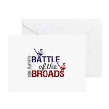 Battle of the Broads Greeting Card