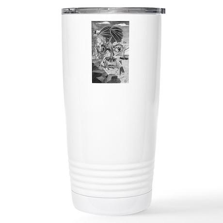 Dragon Face Stainless Steel Travel Mug