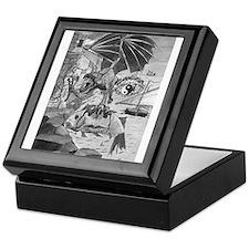 Dragon Face Keepsake Box
