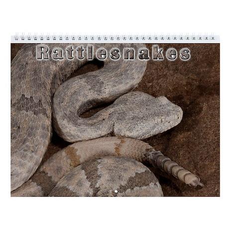 Rattlesnake Wall Calendar
