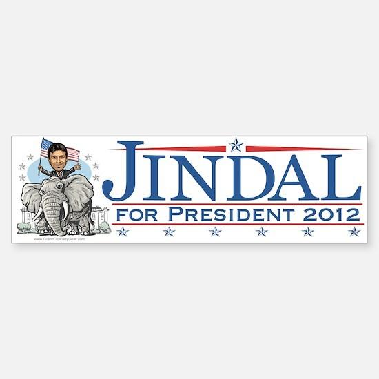 Jindal GOP Elephant Bumper Bumper Bumper Sticker