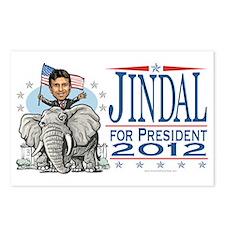 Jindal GOP Elephant Postcards (Package of 8)