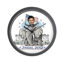 Jindal GOP Elephant Wall Clock