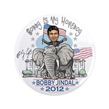"Jindal Homeboy Elephant 3.5"" Button"