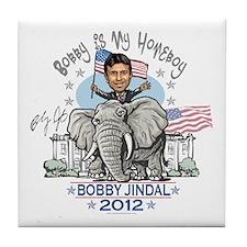 Jindal Homeboy Elephant Tile Coaster