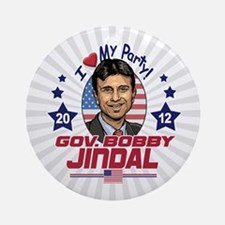 Bobby Jindal Right Choice Ornament (Round)