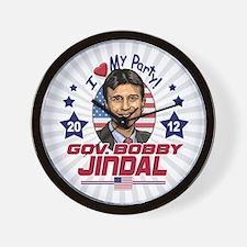 Bobby Jindal Right Choice Wall Clock