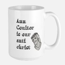 Ann Coulter Is Our Anti Chris Large Mug