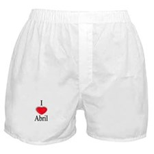 Abril Boxer Shorts