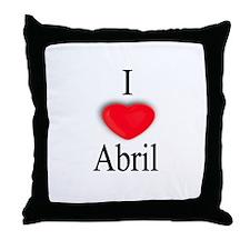 Abril Throw Pillow