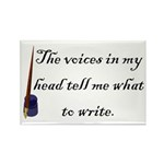Writing Voices Rectangle Magnet