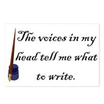 Writing Voices Postcards (Package of 8)