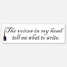 Writing Voices Bumper Bumper Bumper Sticker