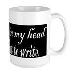 Writing Voices Large Mug