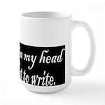 Writing Voices Large Mug