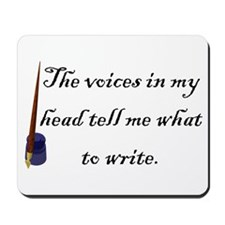 Writing Voices Mousepad
