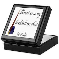 Writing Voices Keepsake Box