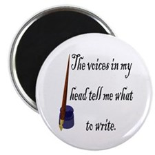 "Writing Voices 2.25"" Magnet (10 pack)"