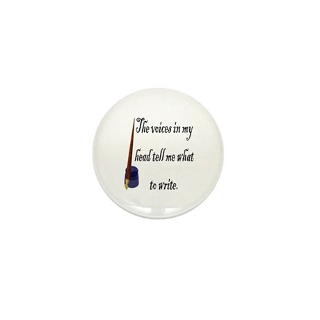 Writing Voices Mini Button (10 pack)
