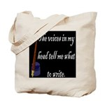 Writing Voices Tote Bag
