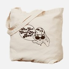 Check Me Boo Tote Bag