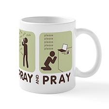 2-spray and pray white Mugs