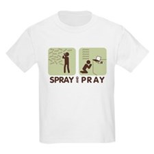 2-spray and pray white T-Shirt
